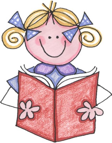 Children s clip art. Book clipart children's book