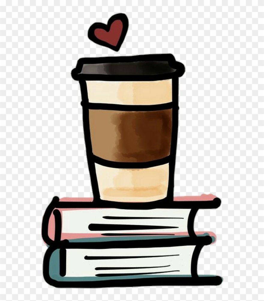Ftestickers student heart . Coffee clipart book