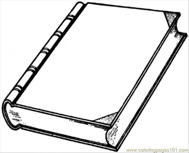 Stack of books coloring. Book clipart colouring