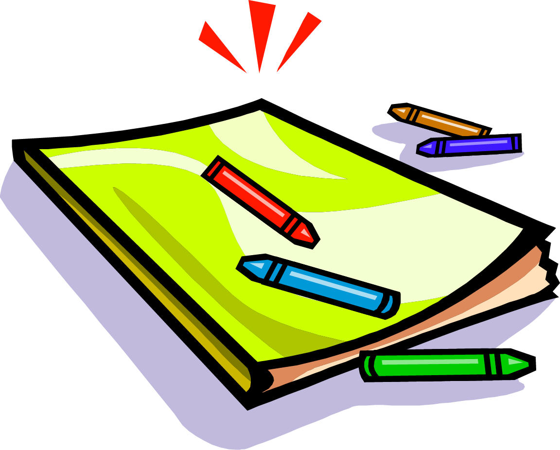 Coloring and pages book. Books clipart colouring