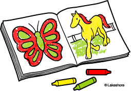 Color clipart coloring book. Clip art free clipground
