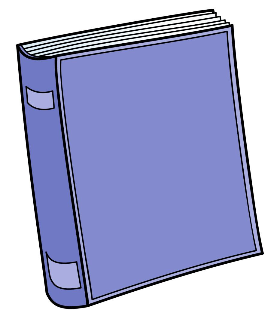 Book clip art free. Books clipart cute