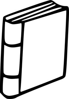How to draw an. Books clipart simple