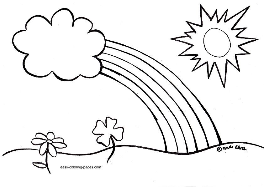 Book clipart easy. Spring coloring pages for