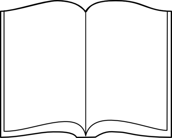 Book clipart easy.  collection of open
