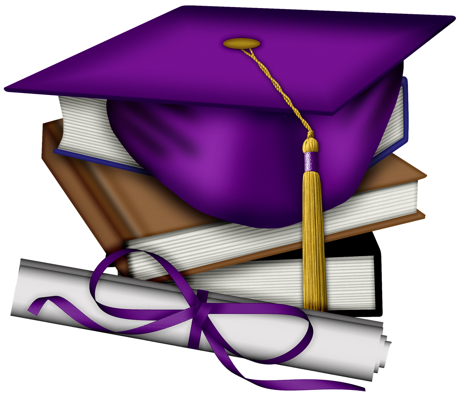 Congratulations clipart grad. Animated purple graduation cap