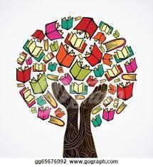 Google book tree . Books clipart knowledge