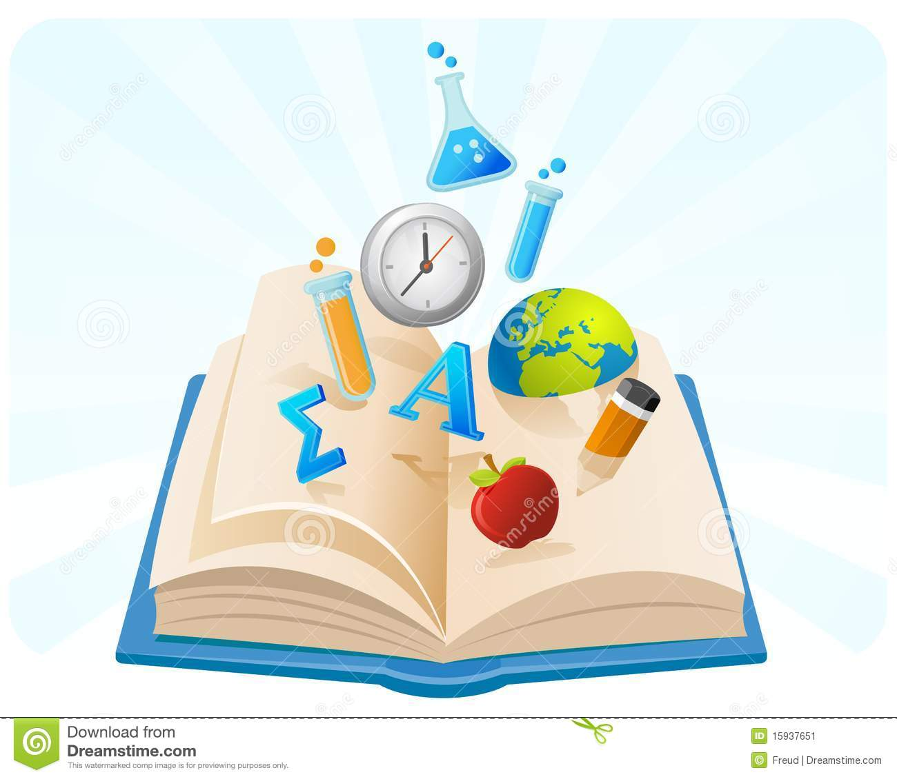 Knowledge clipart book. Of