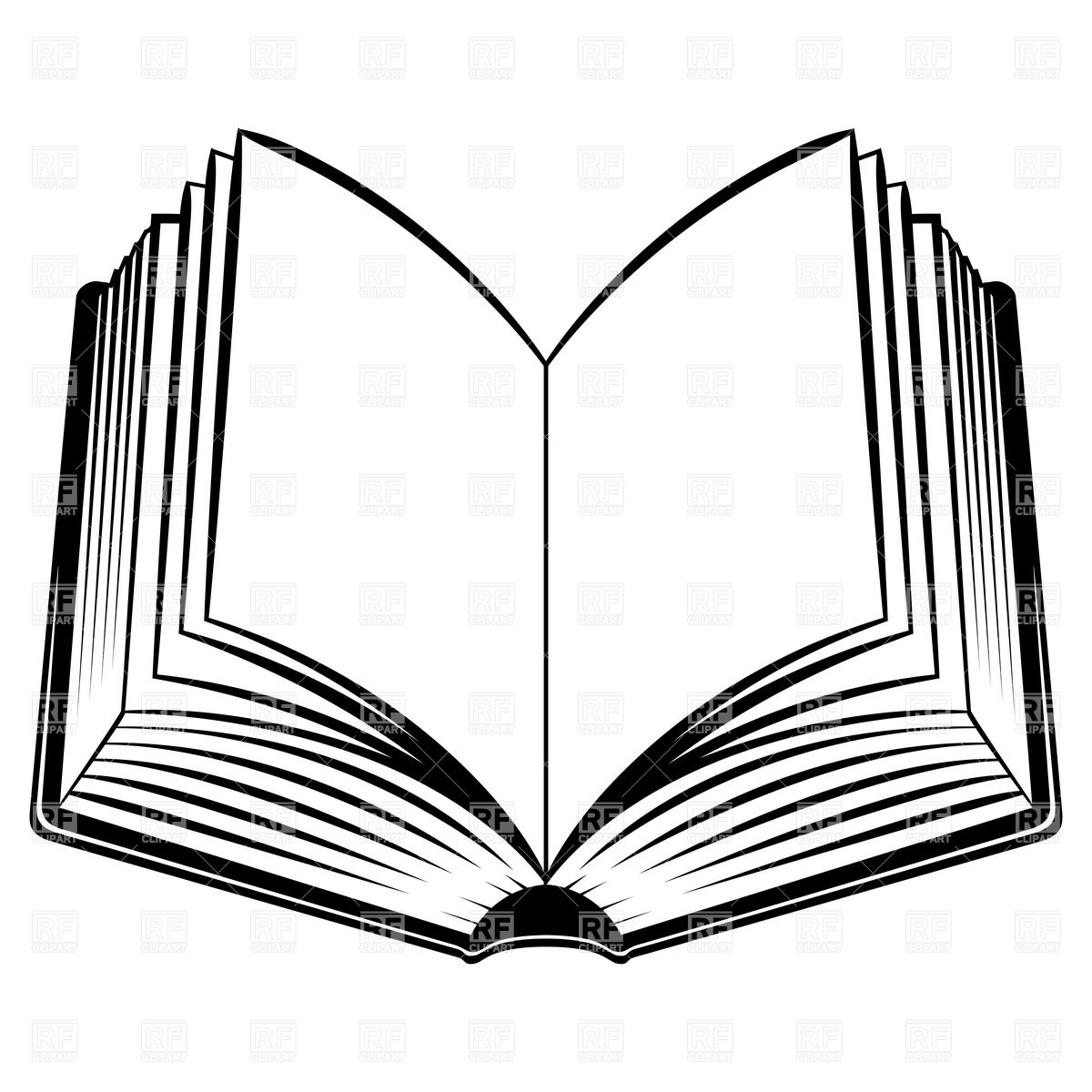 Line drawing free at. Books clipart simple