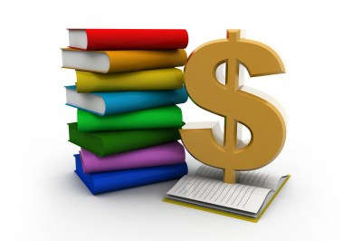 We buy used books. Book clipart money