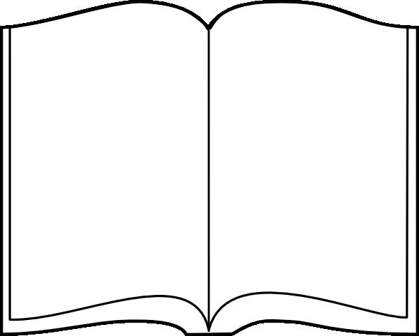 Open book clip art. Clipart bible outline