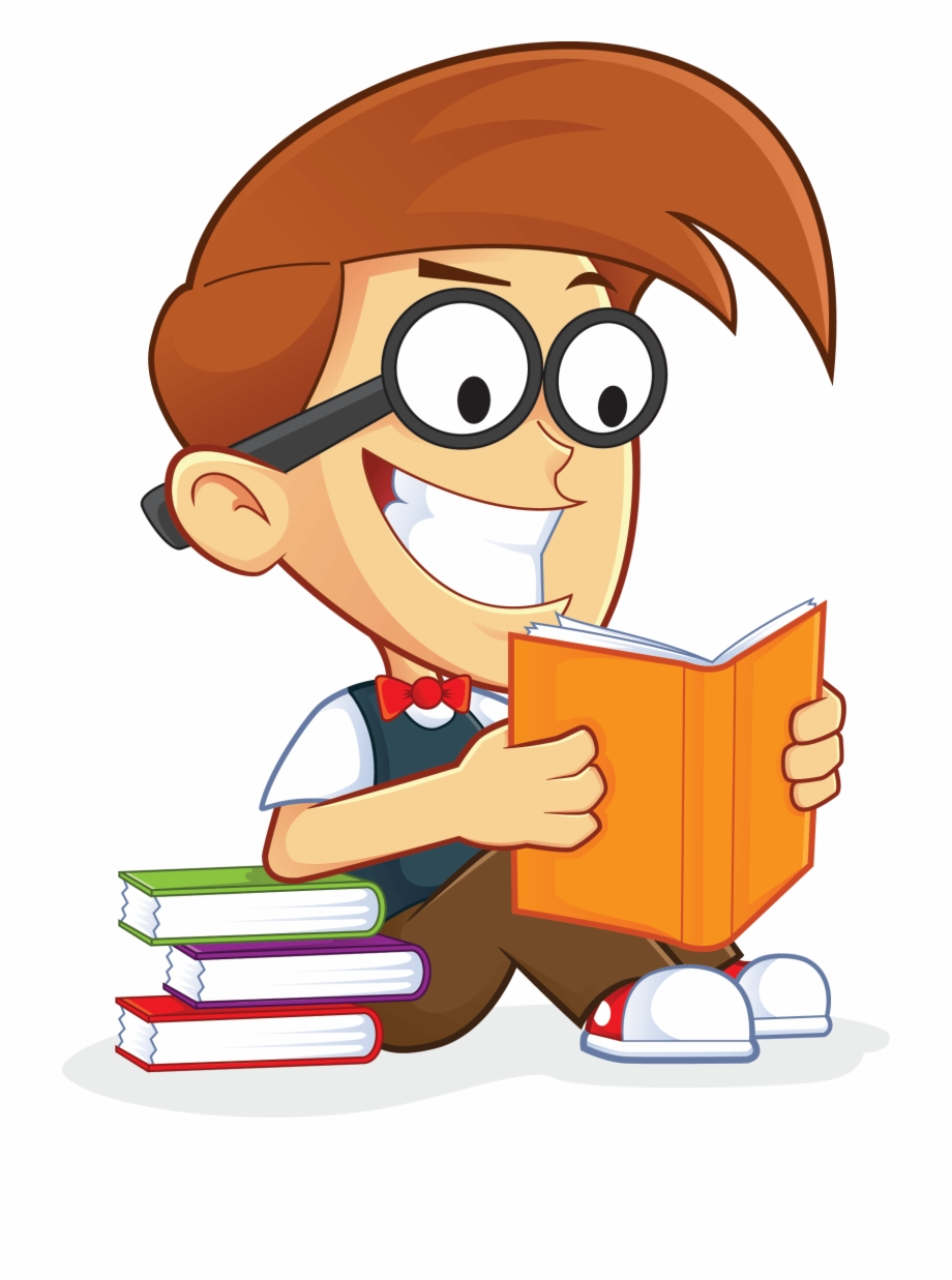 Guy png person books. Clipart reading abook