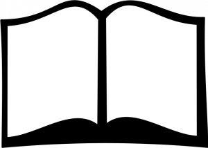 Books clipart silhouette. Free cliparts download clip