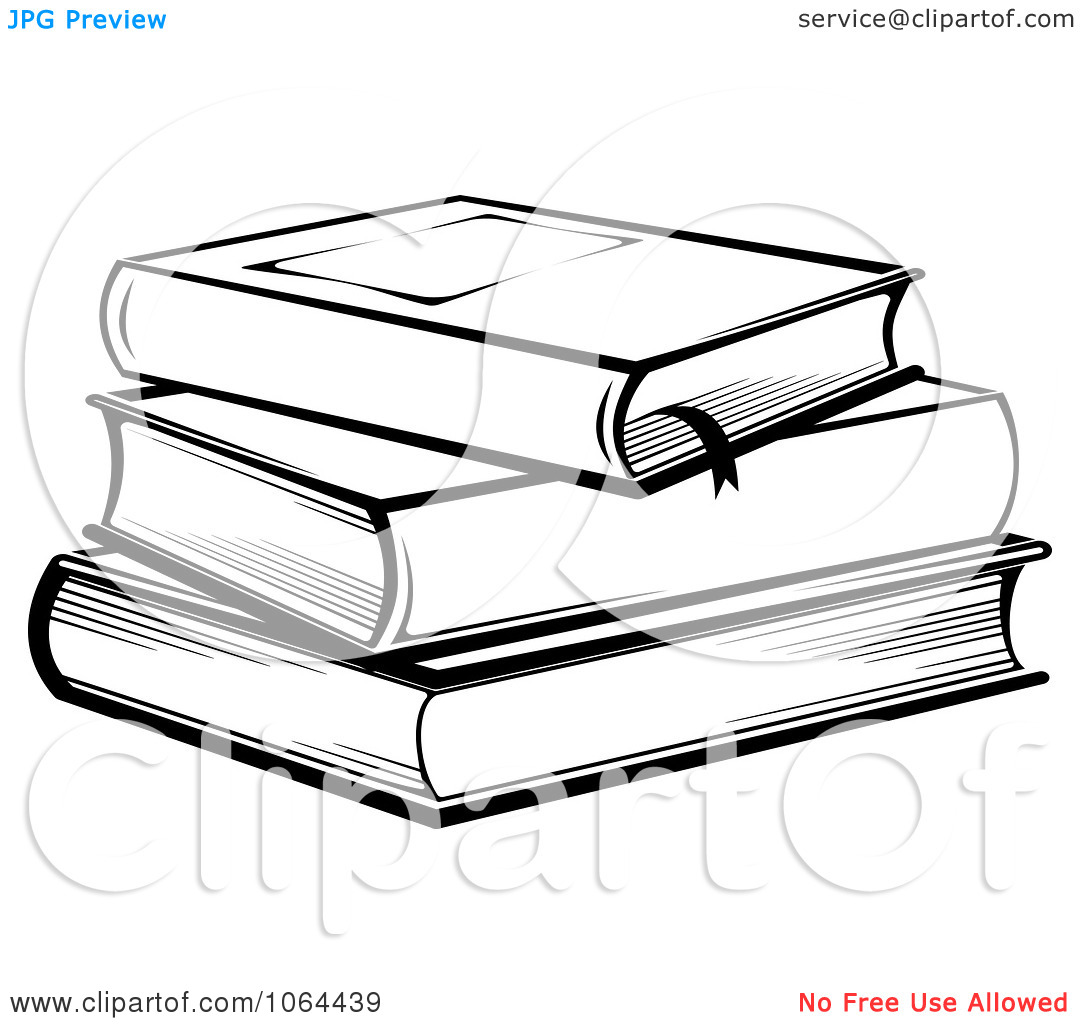 Books clipart sketch. Stack of panda free