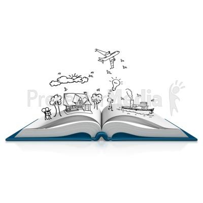 Books clipart sketch. Book dream presentation great