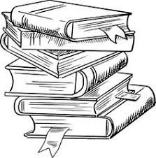 How to draw a. Books clipart sketch