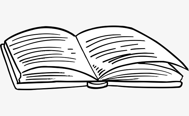Books clipart sketch. Book study png image