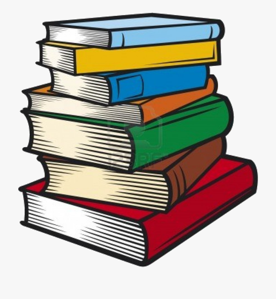 Books clipart stacked. Book stack of clip
