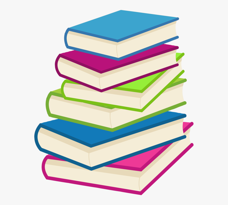 Library clipart stack book. Books clip art of