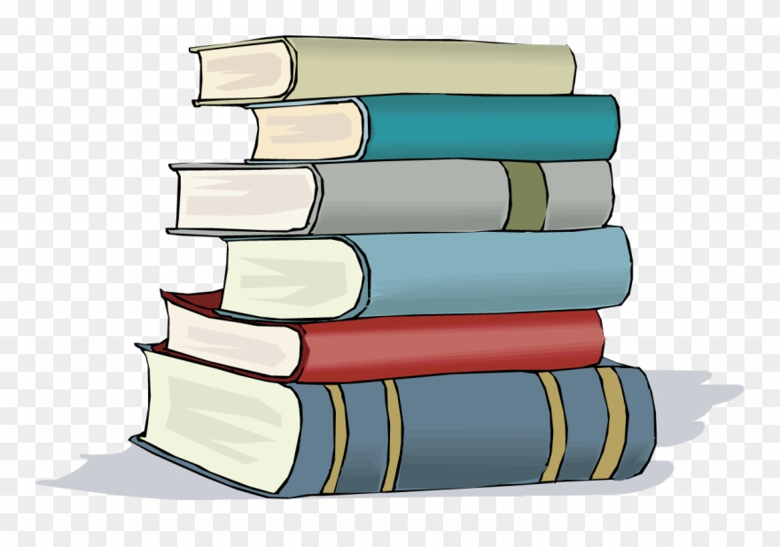 Books clipart stacked. Cartoon stack of free