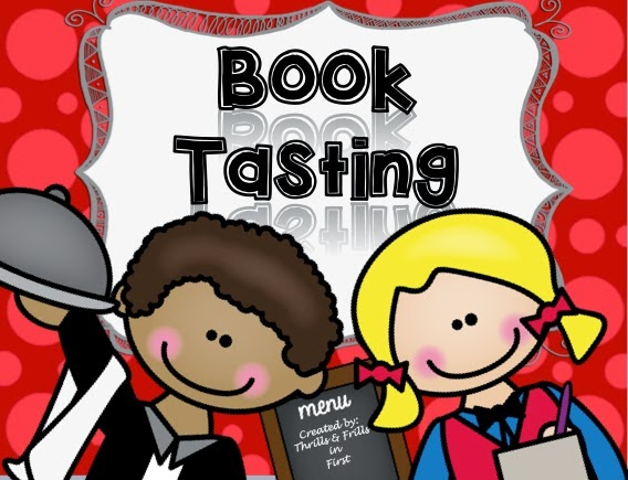 Books clipart tasting. Thrills and frills in