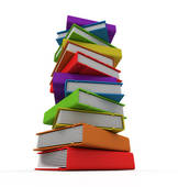 Stock illustrations royalty free. Books clipart tower