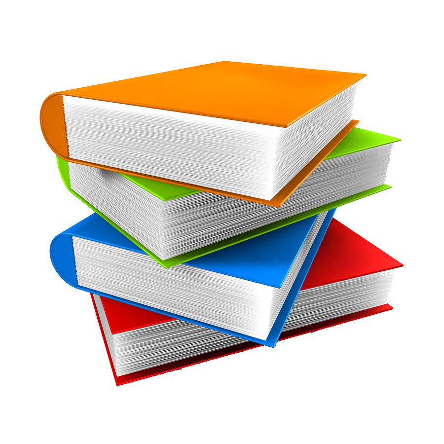 Png images transparent free. Textbook clipart thick book