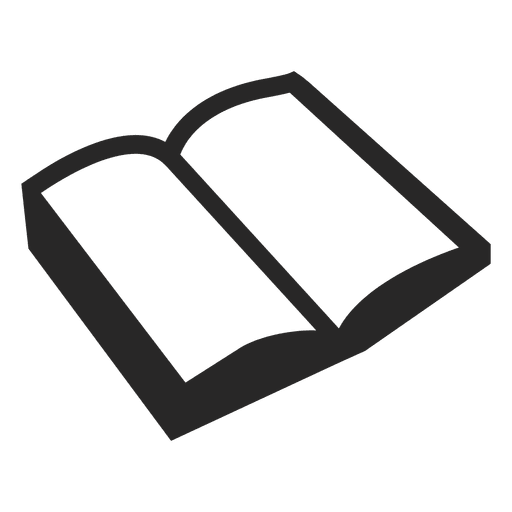 Open transparent svg vector. Book icon png