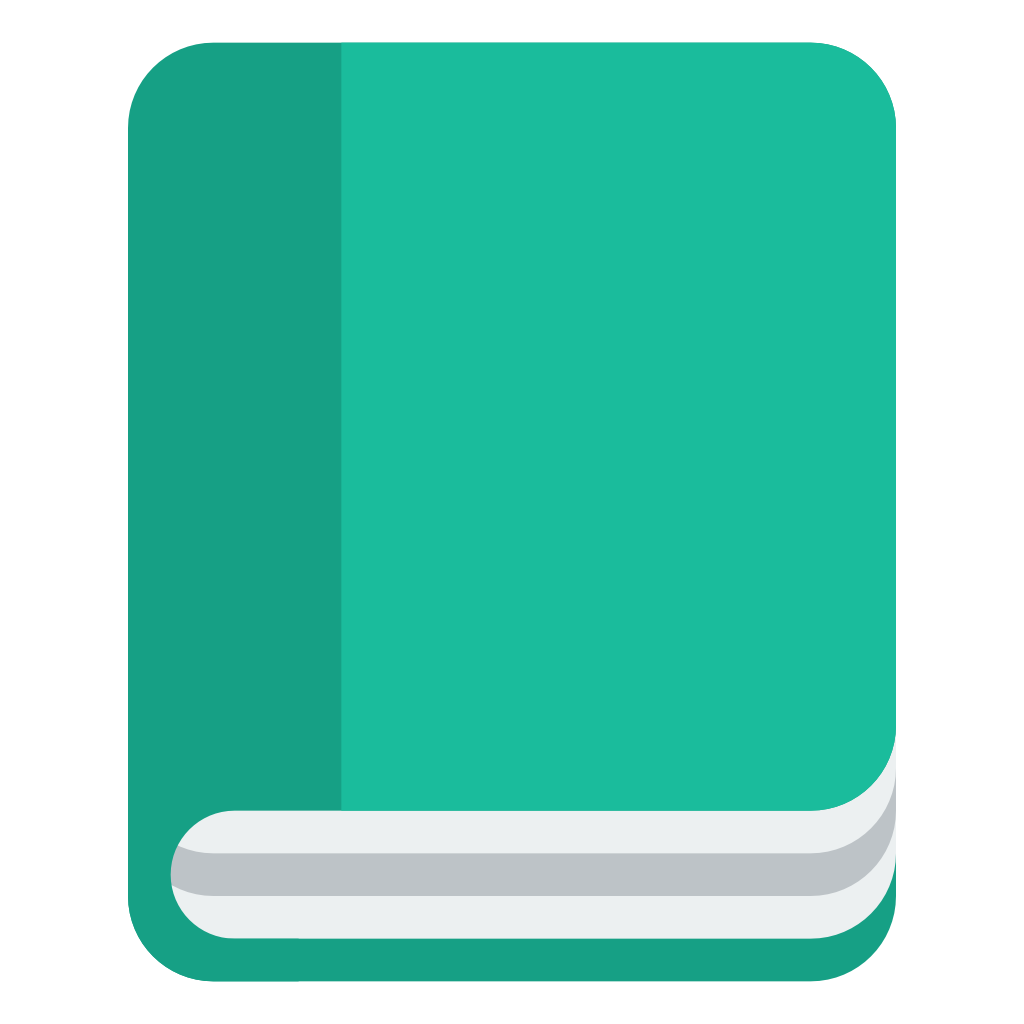 Book icon png. Small flat iconset paomedia