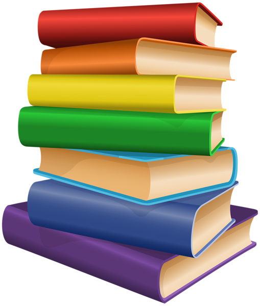 Books clip art image. Book vector png