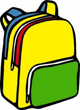 Bookbag clipart. A backpack like spring