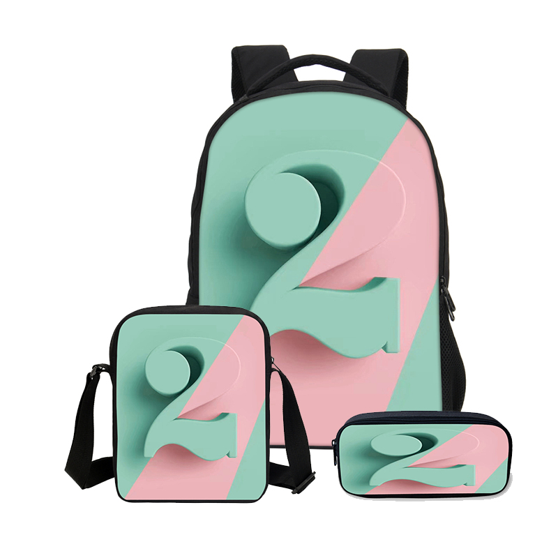 Bookbag clipart 3 bag. Veevanv lucky number printing
