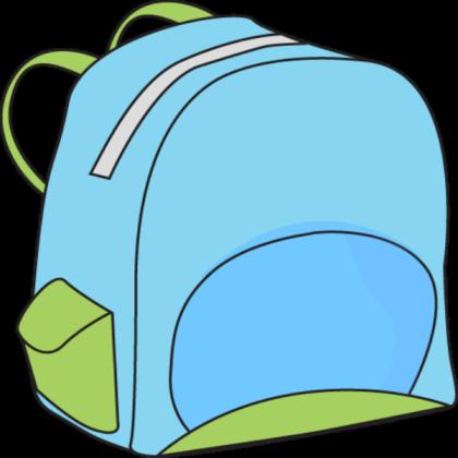 Backpack school roblox . Bookbag clipart