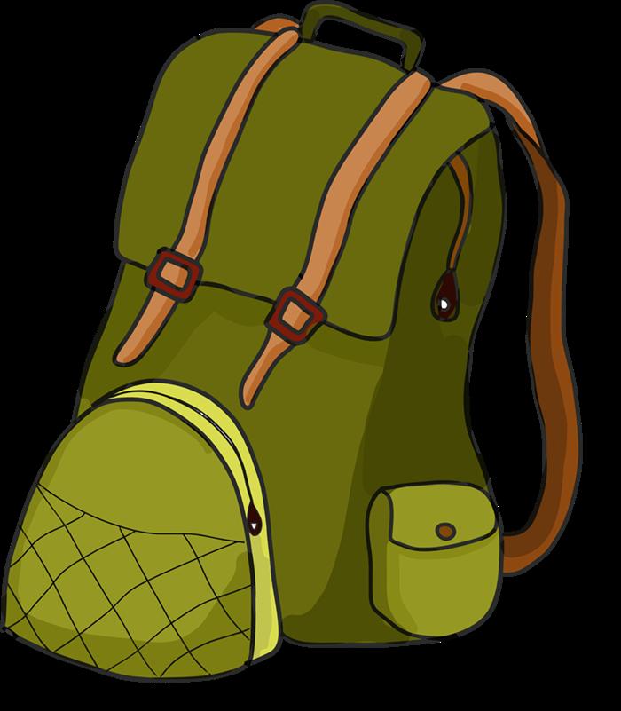 Book bag free backpack. Luggage clipart cartoon