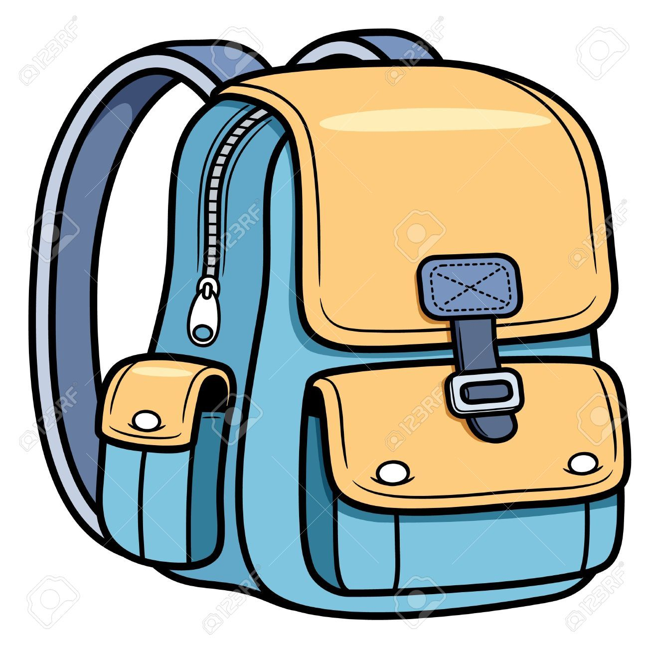School bag cartoons google. Luggage clipart animated