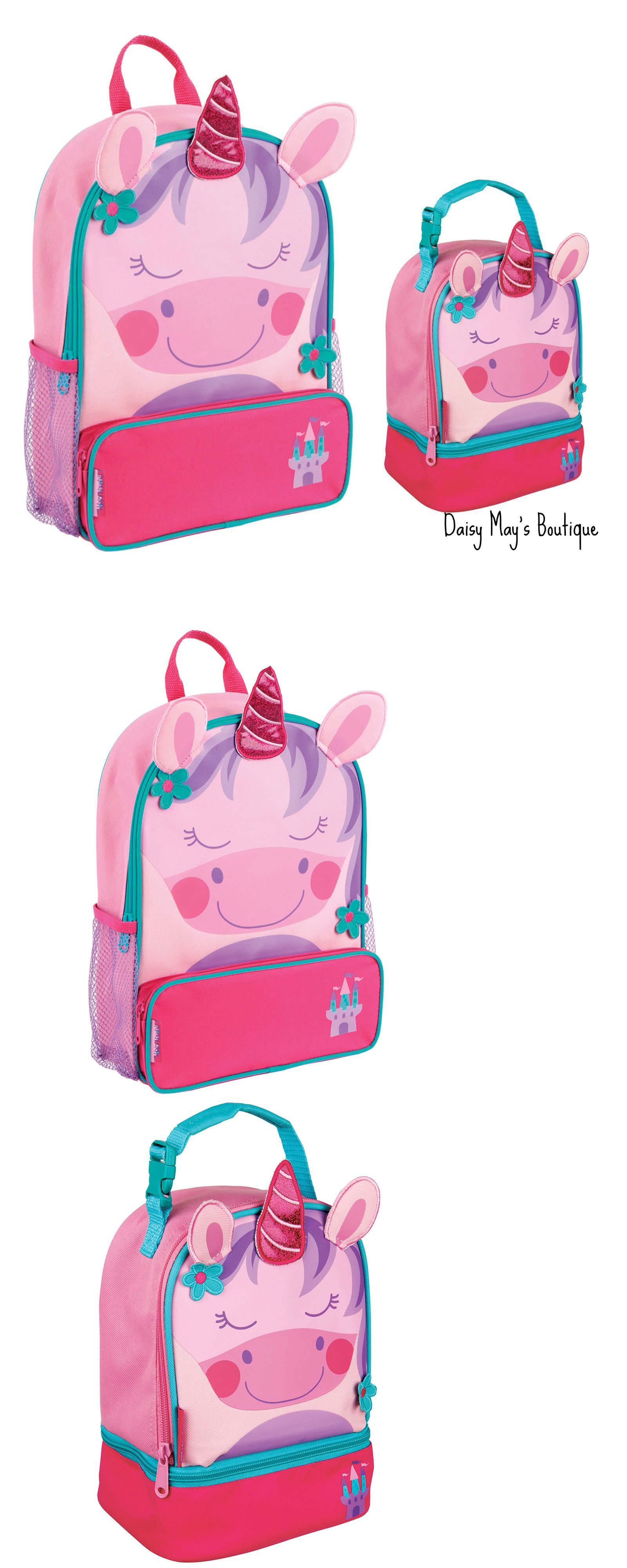 Bookbag clipart backpack lunchbox. Backpacks stephen joseph girls