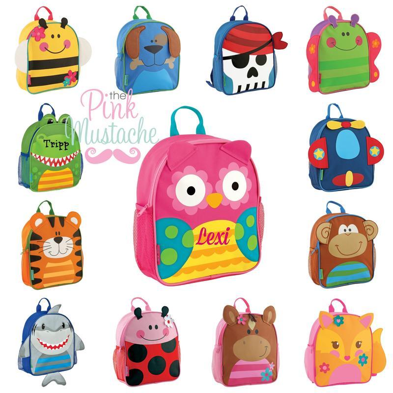 Back to school set. Bookbag clipart backpack lunchbox