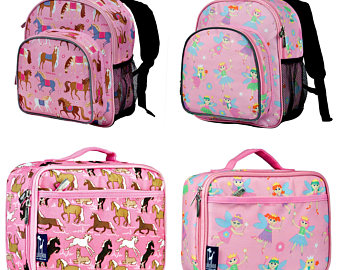 Bookbag clipart backpack lunchbox. Horse etsy personalized and