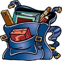 Bookbag clipart book bag. Free backpack or