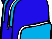 Clip art animations panda. Bookbag clipart book bag