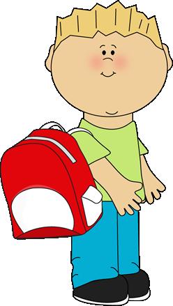 Backpack clipart vector. Kindergarten backpacks