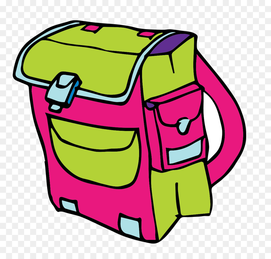 Bag backpack clip art. Bookbag clipart cartoon