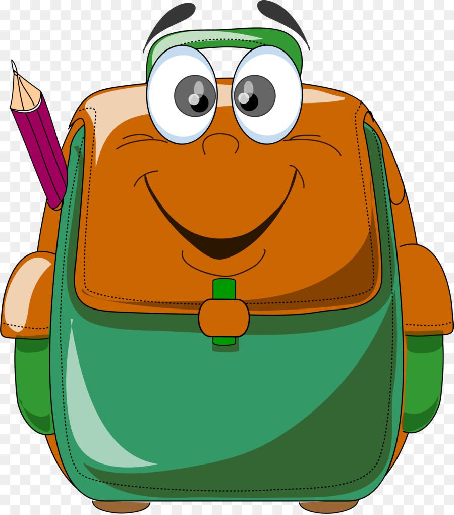 Bookbag clipart classroom. Backpack cartoon bag clip