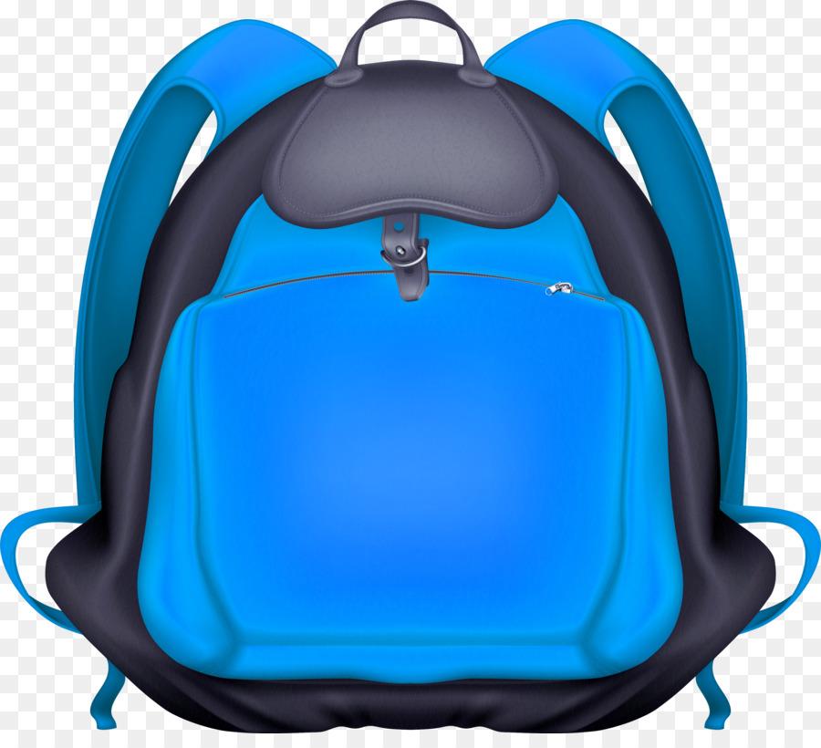 Bookbag clipart clip art. Backpack cartoon blue product