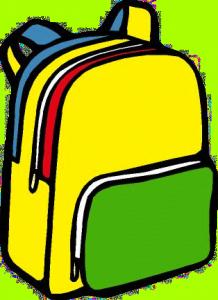 Back pack panda free. Bookbag clipart cute backpack