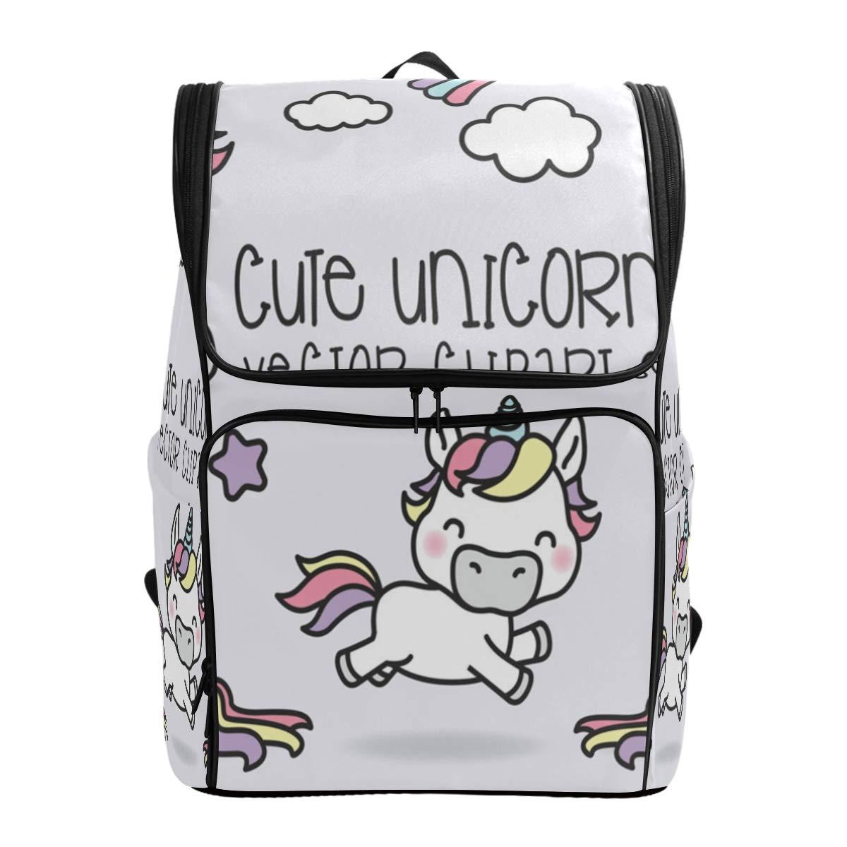Amazon com travel unicorn. Bookbag clipart cute backpack