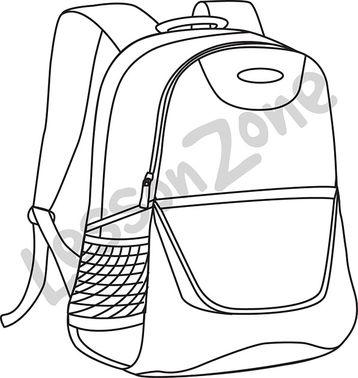 Bookbag drawing