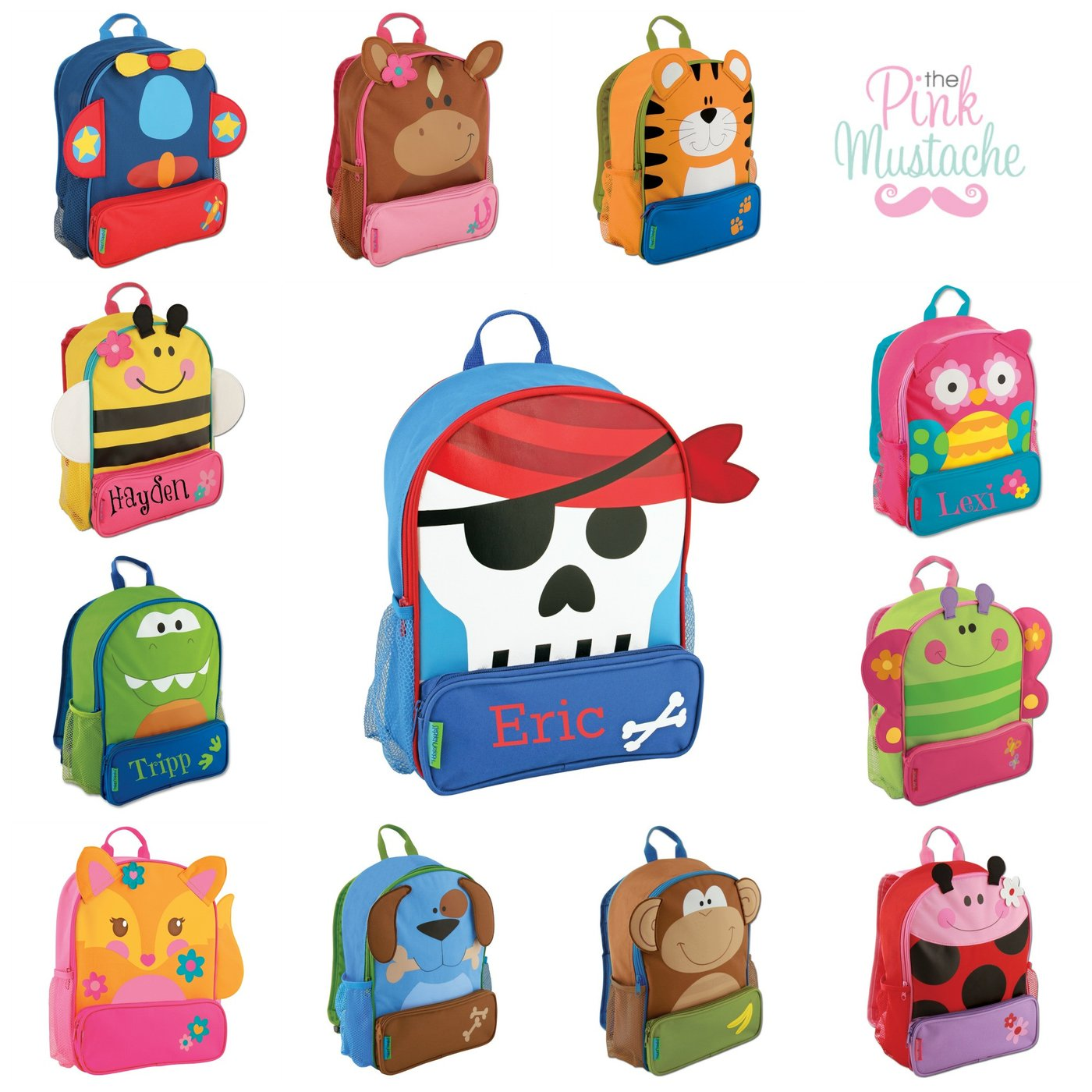 Stephen joseph backpacks sidekicks. Bookbag clipart empty backpack