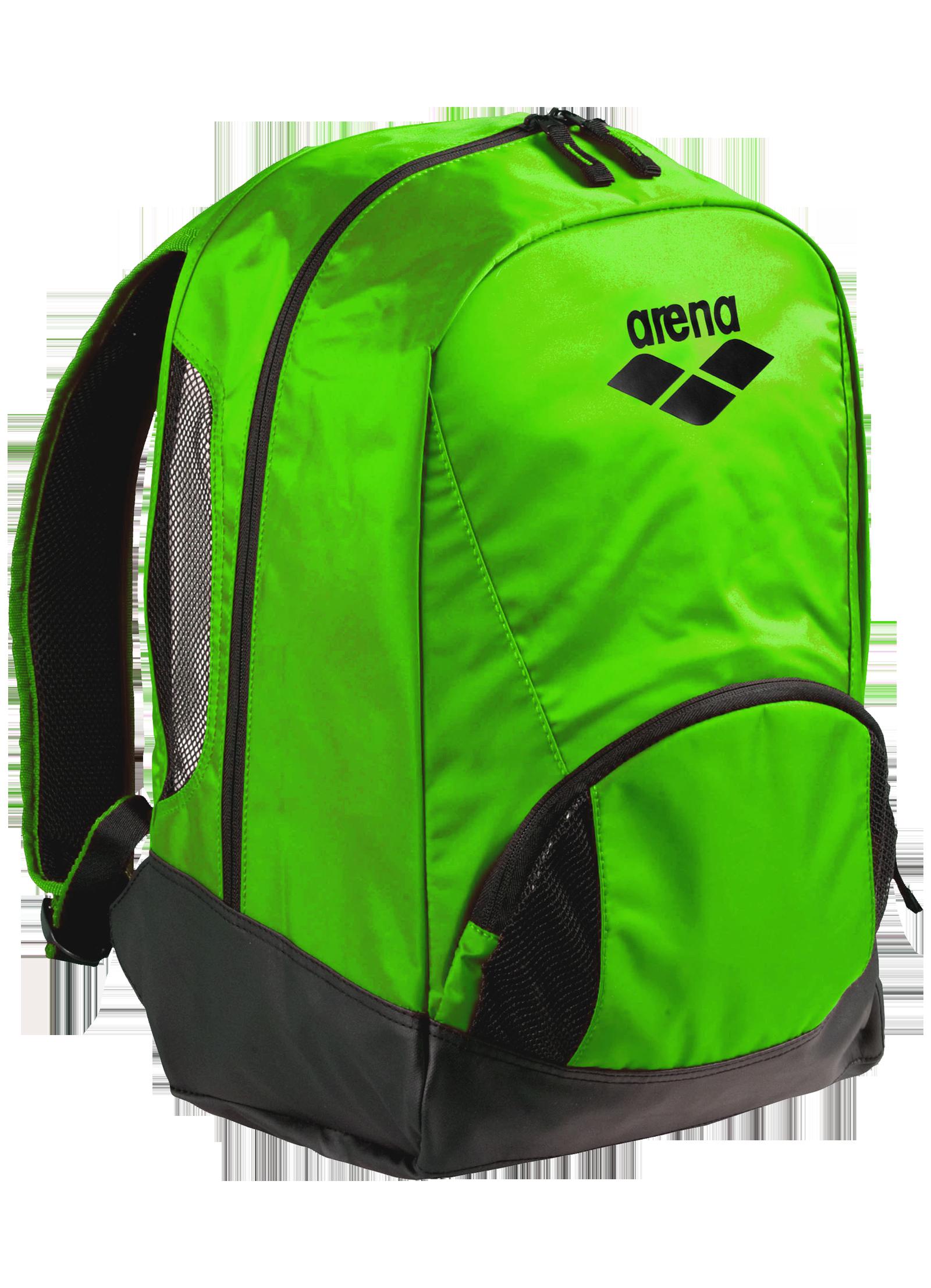Bookbag clipart green backpack. Png image