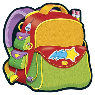 Bookbag clipart homework. Backpack scrap books pinterest